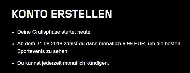 Photo of DAZN Probemonat: 1 Monat kostenlos für Neukunden
