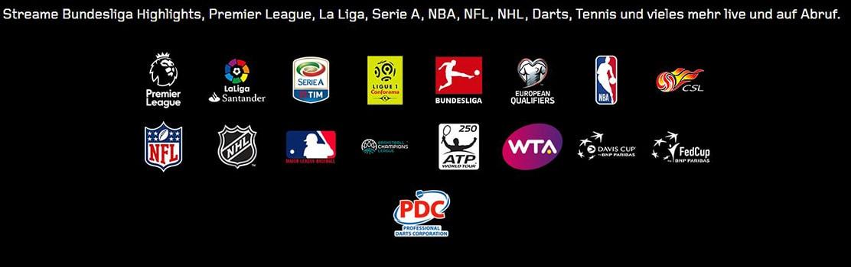 DAZN Sportarten live und auf Abruf
