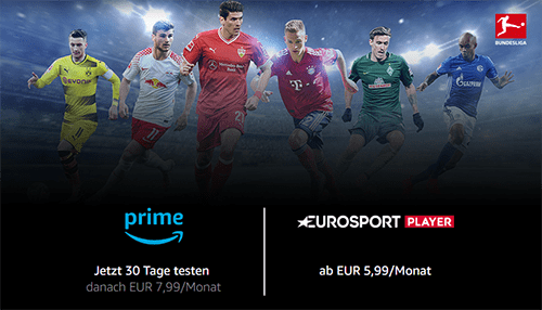 Eurosport Player Channel kostenlos über Amazon testen