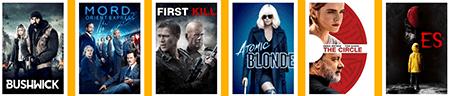 Filme und Inhalte im Sky Cinema Ticket