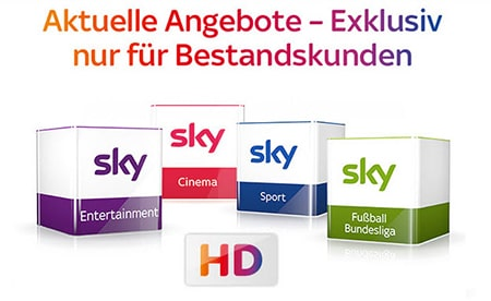 Photo of Sky Angebote für Bestandskunden im September 2019