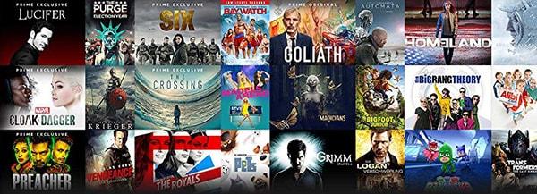 Amazon Prime Video Serien und Filme