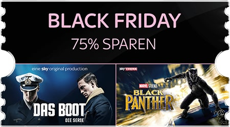 Photo of Sky Ticket Black Friday Special Angebot: Ab 4,99 € pro Monat
