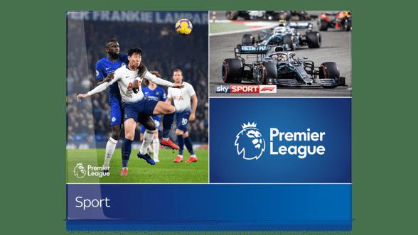 Sky Sport Paket mit Premier League