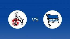 1. FC Köln - Hertha BSC live bei Sky