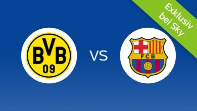Photo of Borussia Dortmund – FC Barcelona: ab 9,99 € (statt 29,99 €) im Livestream