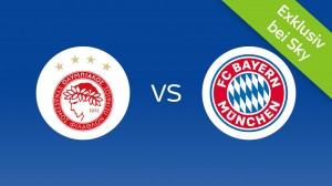 Olympiakos Piräus - Bayern München: Heute Live bei Sky im TV & Live-Stream