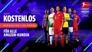 Bundesliga live bei Amazon Music hören
