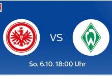 Photo of Eintracht Frankfurt – Werder Bremen live bei Sky, DAZN und Amazon Music