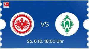 Eintracht Frankfurt - Werder Bremen live bei Sky