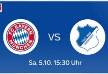 Photo of Bayern München – TSG Hoffenheim live bei Sky, DAZN und Amazon Music