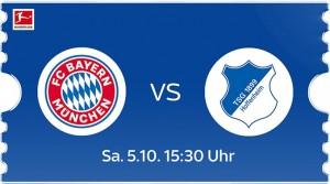 Bayern München - TSG Hoffenheim live bei Sky