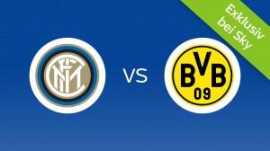 Inter Mailand - Borussia Dortmund: Heute Live bei Sky