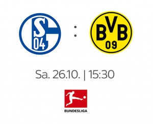 FC Schalke 04 - Borussia Dortmund: Am 26.10. live bei Sky