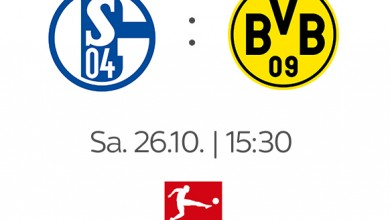 Photo of FC Schalke 04 – Borussia Dortmund: Am 26.10. live bei Sky