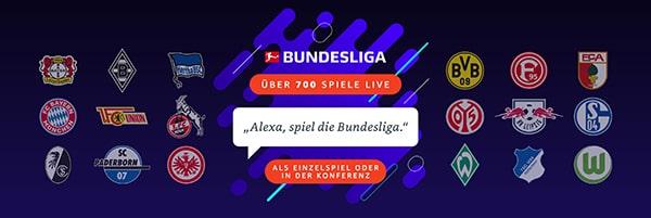 Alexa Sprachbefehle für die Bundesliga