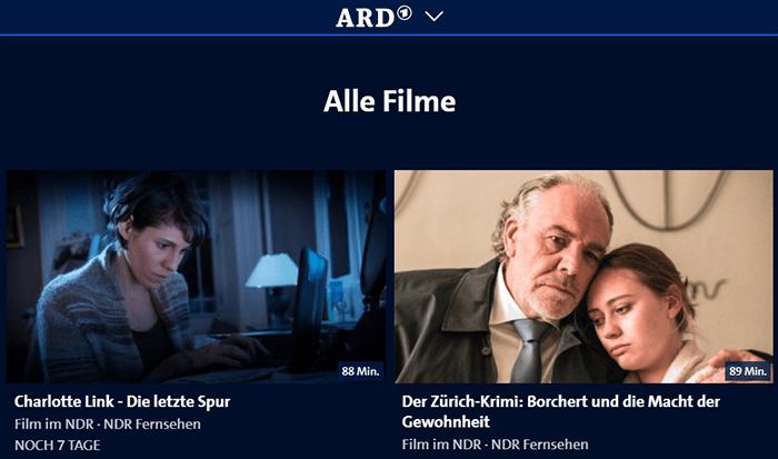 Ard Mediathek Serien