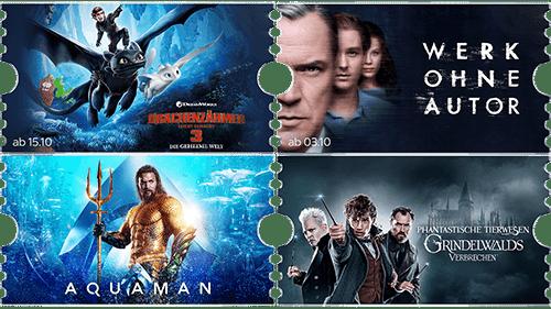 Preise & Rabatte für ein Sky Film Ticket