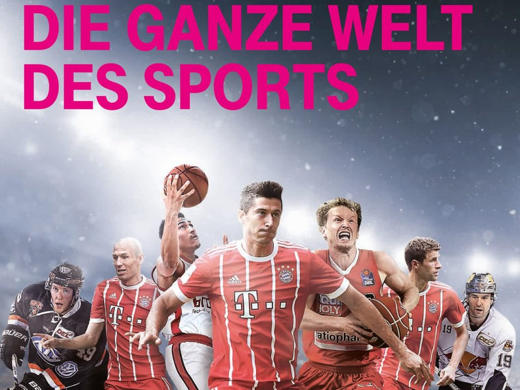 Telekom Live-Sport mit dem MagentaSport Paket