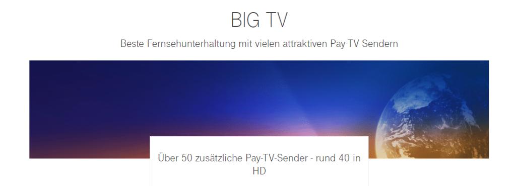 Telekom Magenta TV: Über 50 Pay-TV Sender