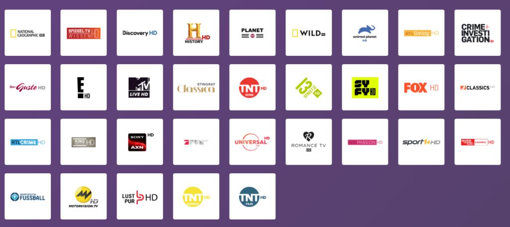 Unitymedia: Pay-TV Sender in der Übersicht