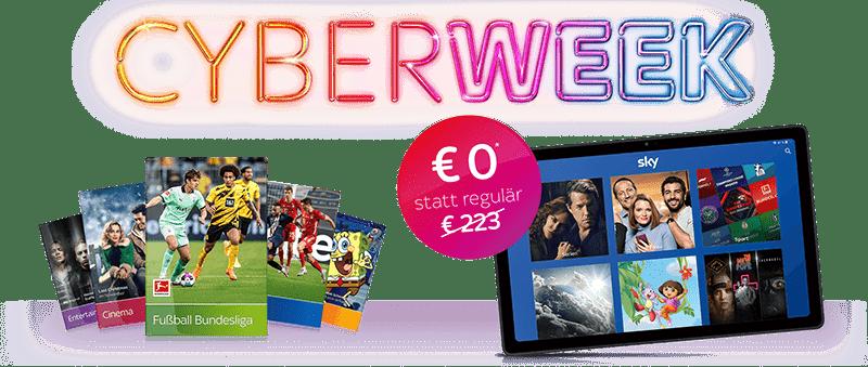 Sky Cyber-Week Angebot