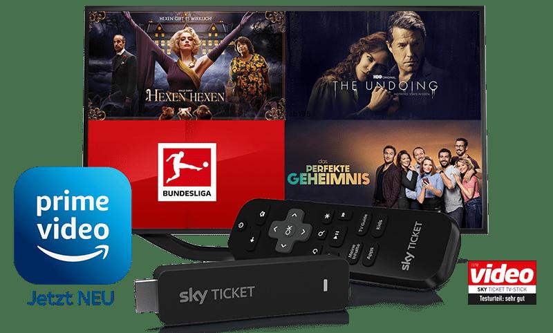 Sky Ticket Angebote inkl. TV-Stick
